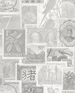 STAMP COLLECTION - BLACK & WHITE