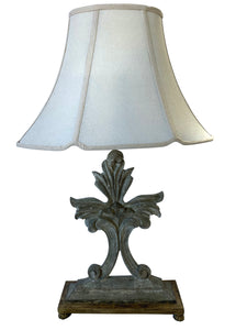 Decorative Fleur De Lis Table Lamp