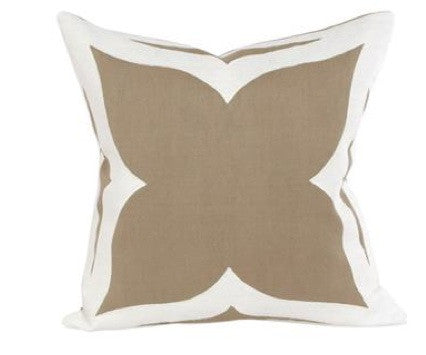 GRACE PILLOW -TAUPE