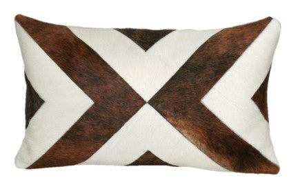 MODERN HIDE BENCH PILLOW