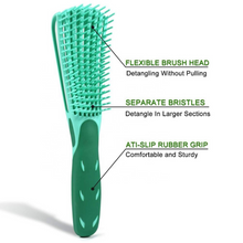 Load image into Gallery viewer, Boucles Project Flexi Curl Detangling Brush & Scalp Massager