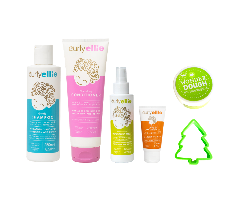 CurlyEllie & Wonderdough Limited Edition Christmas Gift Set