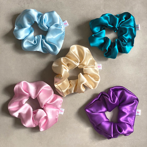 Boucles Project Silk Scrunchie: Limited Edition