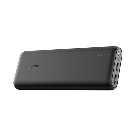 Portable Charger Anker PowerCore 20100mAh - Ultra High Capacity Power Bank with 4.8A Outputand and PowerIQ Technology, External Battery Pack for iPhone, iPad & Samsung Galaxy & More (Black) - kayakmodify
