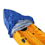 RONGT Kayak Canoe Storage Cover, Waterproof and Dust-Proof UV Sunblock Shield Protector for (3.1-3.5m/9.9-11.4ft) Fishing Boat/Kayak / Canoe - kayakmodify
