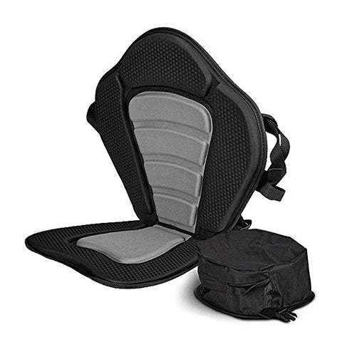Vibe Kayaks Deluxe Padded Kayak Seat Deluxe Sit-On-Top Cushioned Back Support Kayak and Canoe Seat - kayakmodify