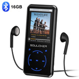 MP3 Player, 16GB MP3 Player with Bluetooth 4.0, Portable HiFi Lossless Sound MP3 Music Player with FM Radio Voice Recorder E-Book 2.4'' Screen, Support up to 128GB (Headphone, Sport Armband Included) - kayakmodify