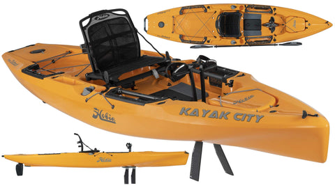 Hobie Mirage Outback Kayak 2019 Papaya Orange - kayakmodify