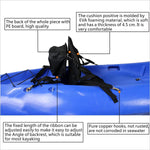 IZTOSSWelugnal Kayak Backrest Boating Seat,Luxury Adjustable Padded Kayak Seat Back with Detachable Canoe Backrest Seat Bag(2 Pack) - kayakmodify