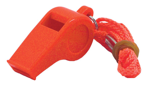 Shoreline Marine Basic Safety Whistle with Lanyard - kayakmodify