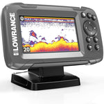 HOOK2 4X - 4-inch Fish Finder with Bullet Skimmer Transducer - kayakmodify