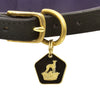 Brass Enamel Collar Tag