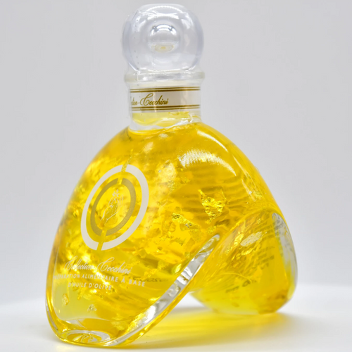 Huile d'olive extra-vierge feuille d'argent ou or 100ml