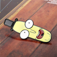 MQCHUN Newest Rick and Morty Brooch Mr. Poopy Butthole Enamel Pin Badge Movie Cartoon Men Women Accessories Jewelry -40