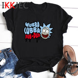 Rick and Morty Season 4 Harajuku T Shirt Men Funny Cartoon Ricky and Morty T-shirt Fashion Anime Summer Tshirt Fun Top Tees Male 1
