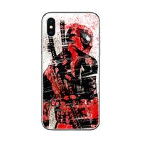 ciciber Marvel Deadpool Phone Case For Apple iPhone 7 8 6 6s Plus X XR XS MAX 5 5S SE Soft TPU Cover For iPhone 11 Pro Max Coque 1 2