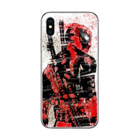 ciciber Marvel Deadpool Phone Case For Apple iPhone 7 8 6 6s Plus X XR XS MAX 5 5S SE Soft TPU Cover For iPhone 11 Pro Max Coque 1