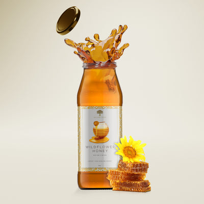 100% Pure Wildflower Honey - Bundle of 2