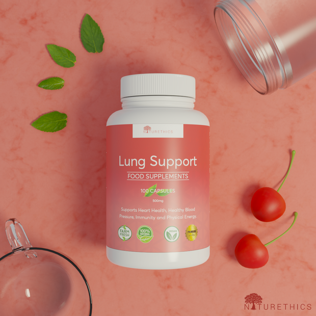Lung Support Capsules 100s
