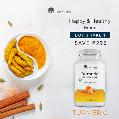Turmeric Buy 3 Take 1 Sale!