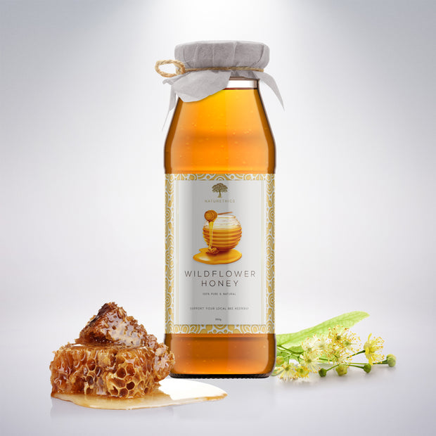 100% Pure Wildflower Honey 2 Pcs. Bundle