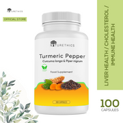Turmeric Black Pepper Capsules 100s