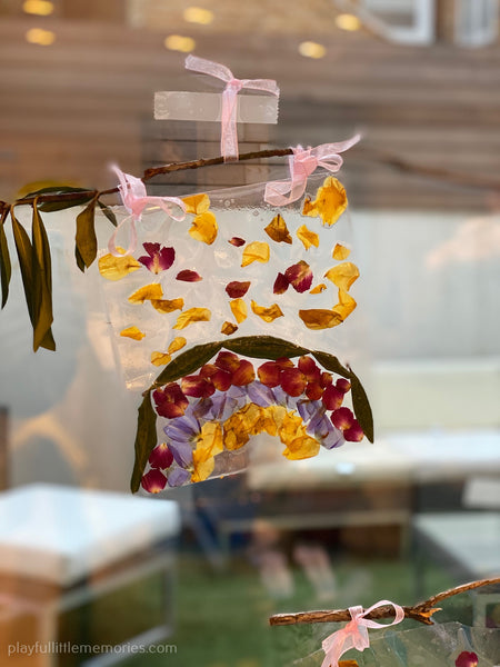 Hanging Flower Craft
