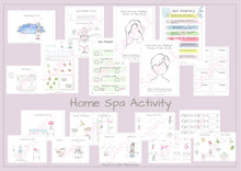 Load image into Gallery viewer, Home Spa Activity Download