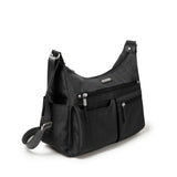 Baggallini Anywhere Large Hobo Bag Side Pocket Detail