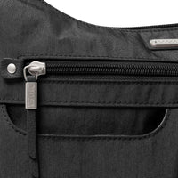 Baggallini Anywhere Large Hobo Bag Zipper Detail