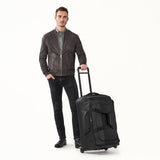 Briggs & Riley ZDX Medium Upright Wheeled Duffel Lifestyle View