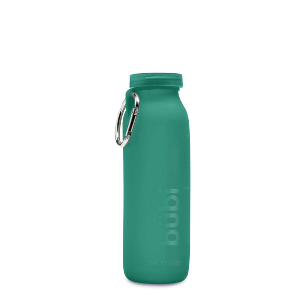 Bubi Silicone Bottle Seafoam Teal