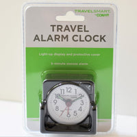 Conair Travel Alarm Clock Black