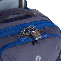"Eagle Creek Gear Warrior 4-Wheel 95L 30""  Lock Detail"