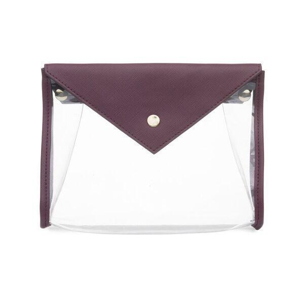 Hudson + Bleecker En Route Clear Clutch Amora