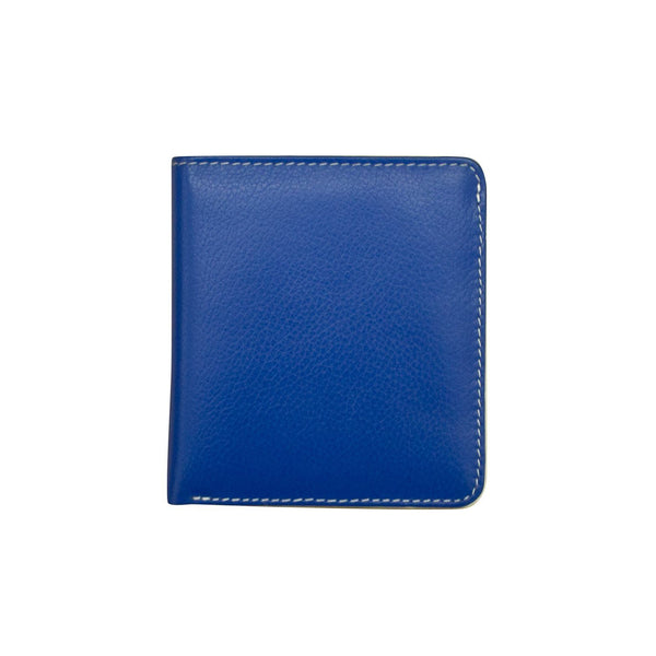 Iliworld Mini Bi-Fold Wallet with RFID Blocking Lining  Cobalt