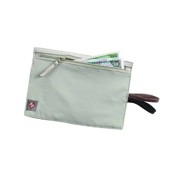 Lewis N Clark RFID Hidden Travel Wallet Beige