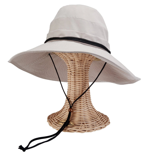 San Diego Hat Co. Women's Active Sun Brim Hat Tan