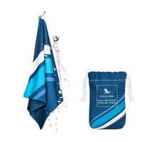 Dock & Bay Cooling Towels Rapid Navy