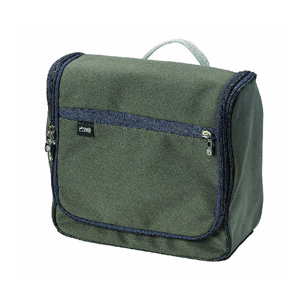 Lewis N Clark Brushed Twill Hanging Toiletry Kit