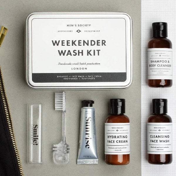 Men's Society Weekender Wash Kit
