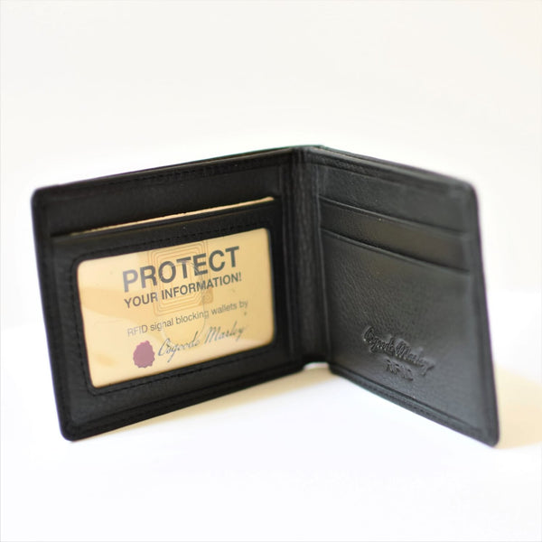 Osgoode Marley RFID Ultra Mini Wallet Black