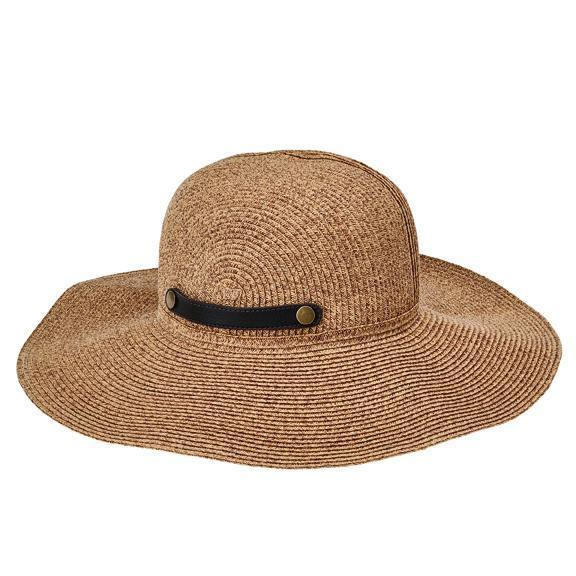 San Diego Hat Co Womens Ultrabraid Packable Sun Brim with Snap