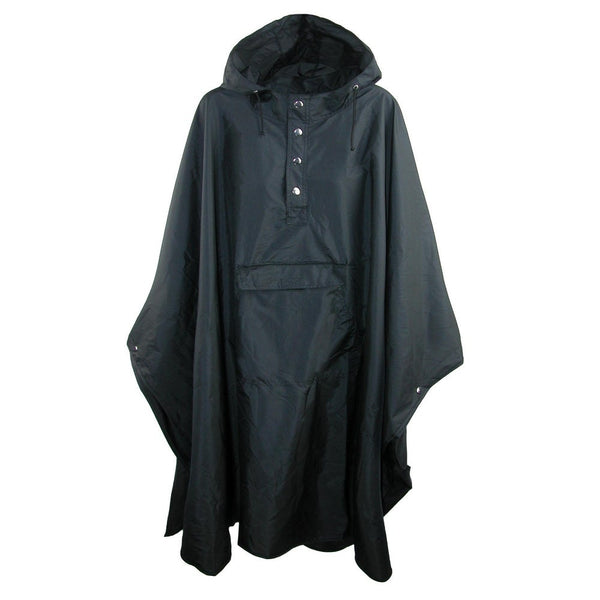 Shedrain Packable Poncho Black