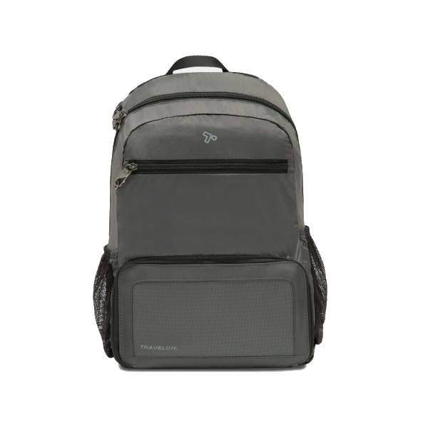 Travelon Anti-Theft Active Packable Backpack Charcoal