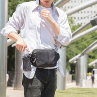 Travelon Anti-Theft Classic Waist Pack Lifestyle View