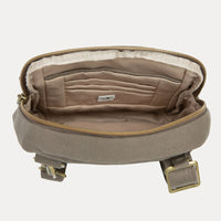 Travelon Anti-Theft Courier Small North/South Slim Bag Interior View