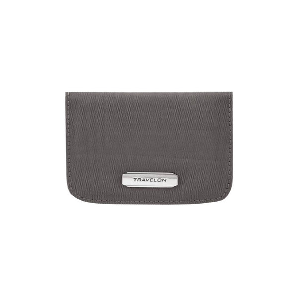 Travelon RFID Bifold Card Case Smoke