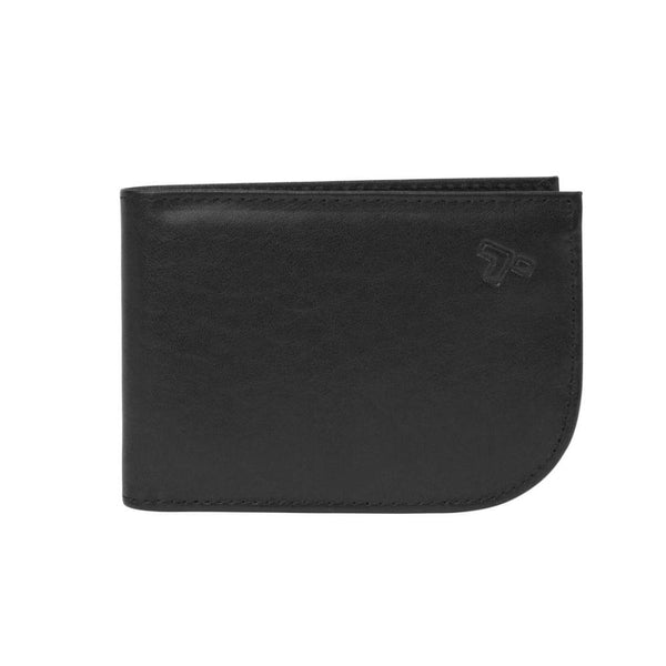 Travelon RFID Blocking Leather Front Pocket Wallet Black