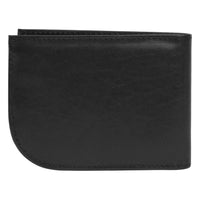 Travelon RFID Blocking Leather Front Pocket Wallet Rear View